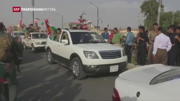 Video «Irakische Armee startet Offensive gegen Kirkuk» abspielen