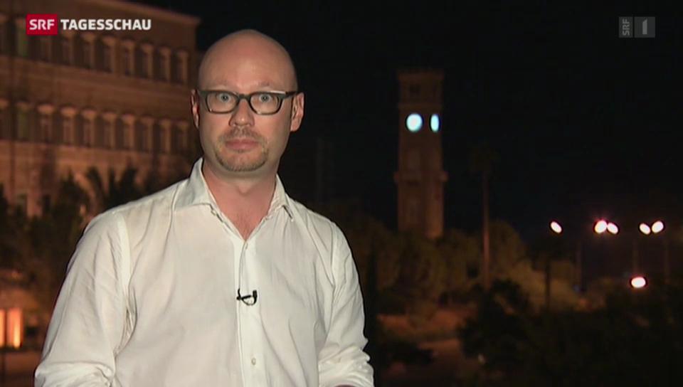 SRF-Korrespondent Pascal Weber in Beirut