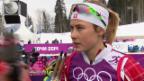 Video «Sotschi: Langlauf, Sprints, Interview mit Van der Graaff» abspielen