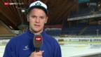 Video «Eishockey: Leonardo Genoni über seinen Wechsel zum SCB» abspielen