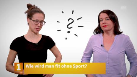 Video «Fit & Gesund: Brigitte Wenger und Regula Zehnder» abspielen
