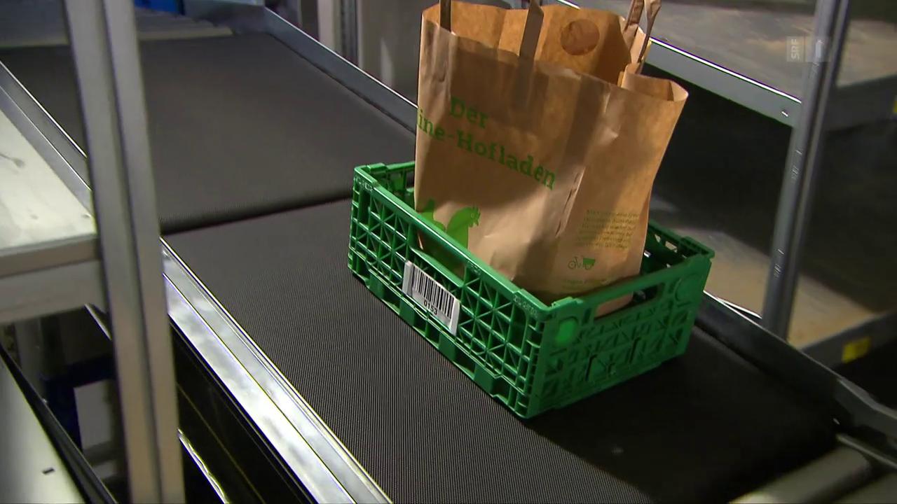 Ausländische Anbieter drängen in den Online-Food-Handel