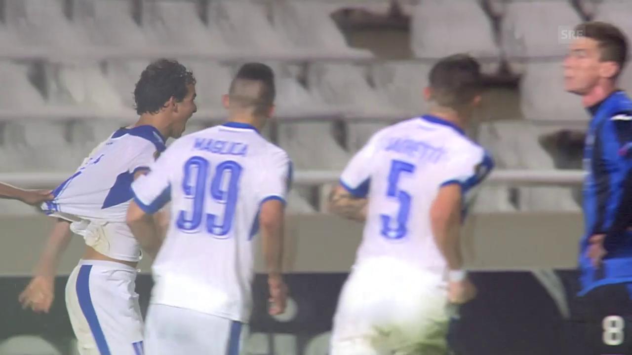 Freulers Atalanta kassiert gegen Limassol den Last-Minute-Ausgleich