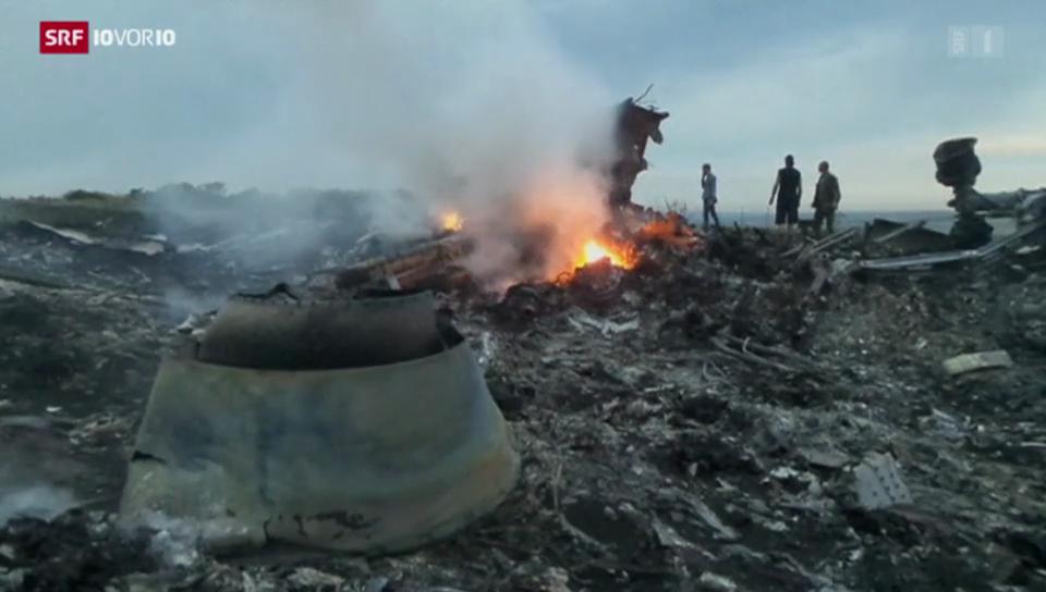 Tragödie über der Ukraine