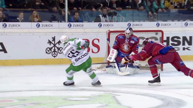 Video «Eishockey: Spengler Cup, Zusammenfassung Genf - Ufa» abspielen