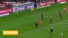 Video «Admir Mehmedis 7. Bundesliga-Treffer» abspielen