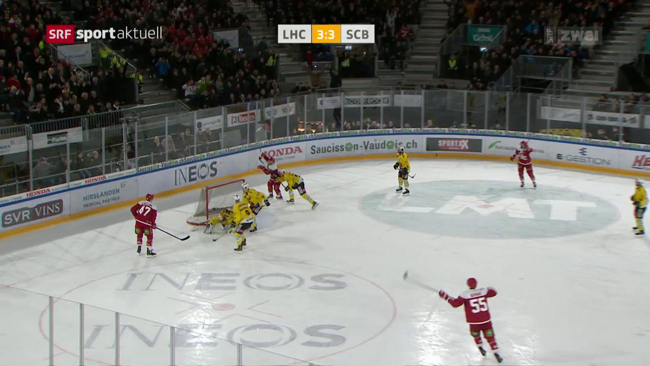 Lausanne gelingt Revanche gegen Bern