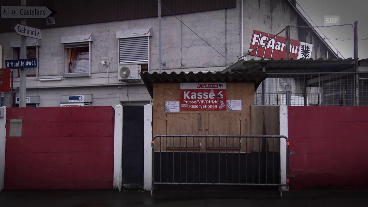 Fussball: Super League, Der Absturz des FC Aarau