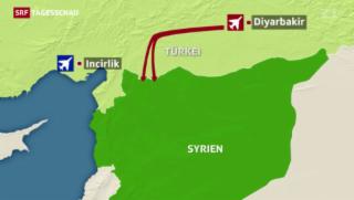 Video «Türkei greift IS in Syrien an» abspielen