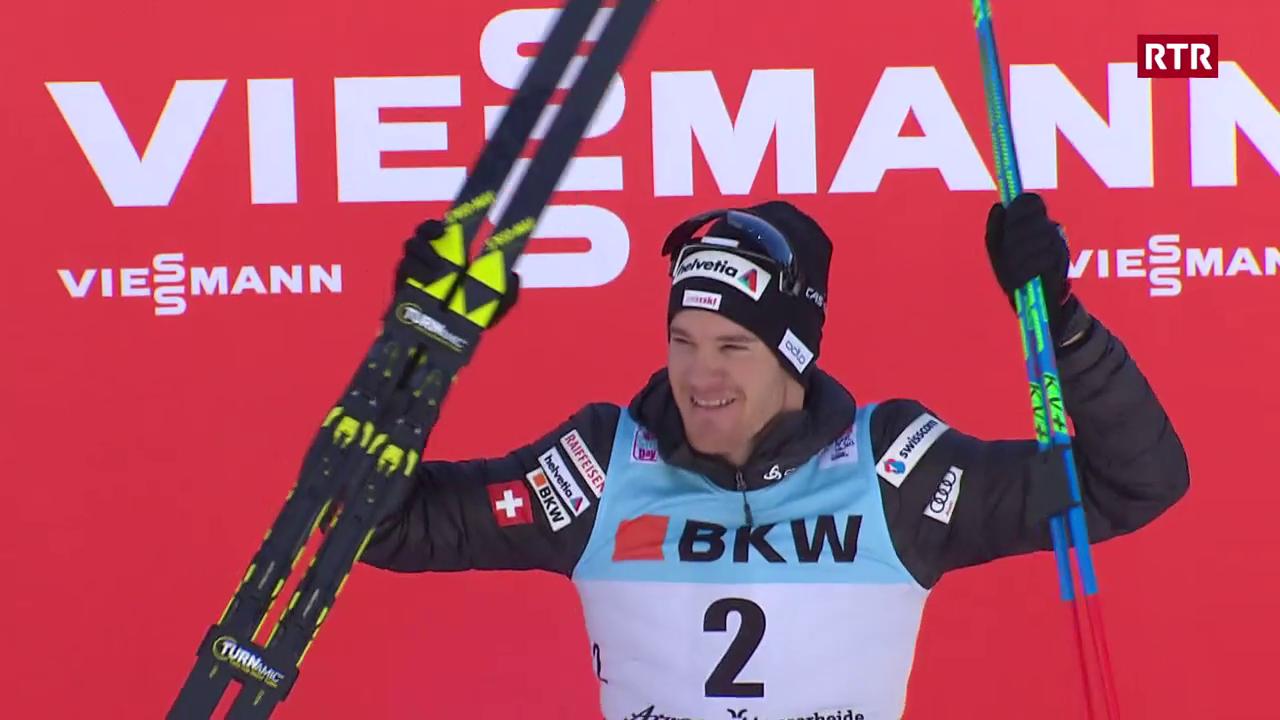Cologna triumfescha danovamain al Tour de ski