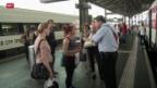Video «Brand bei Bahnhof Lausanne legt Zugverkehr lahm» abspielen