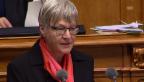 Video «BDP-Nationalrätin Quadranti: «Wettbewerb soll bleiben»» abspielen