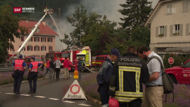 Video «Grossbrand in Thusis» abspielen