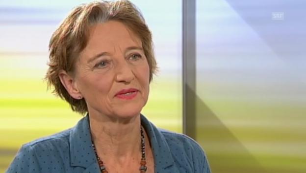 Video «Interview mit Regina Frey vom 3.11.13» abspielen