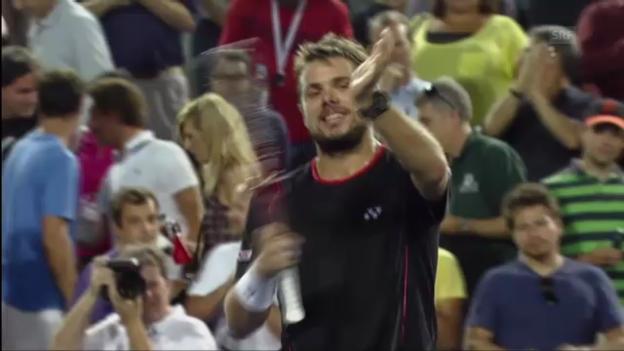 Video «Wawrinka-Karlovic: Satz- und Matchbälle («sportlive»)» abspielen