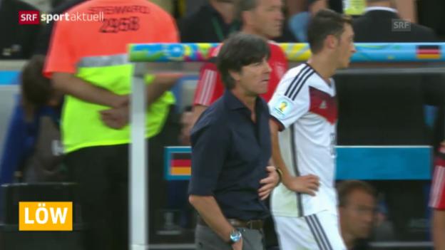 Video «Fussball: Joachim Löw macht als Nationaltrainer weiter («sportaktuell»)» abspielen