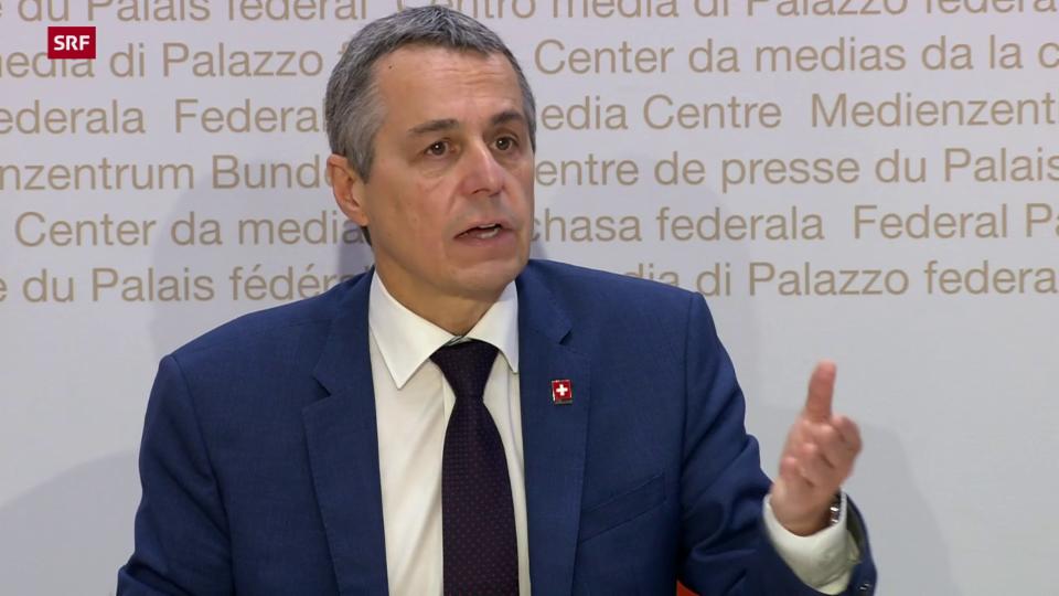Cassis: «Il Cussegl federal è preoccupads»