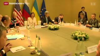 Video «Ukraine-Gespräche in Genf» abspielen