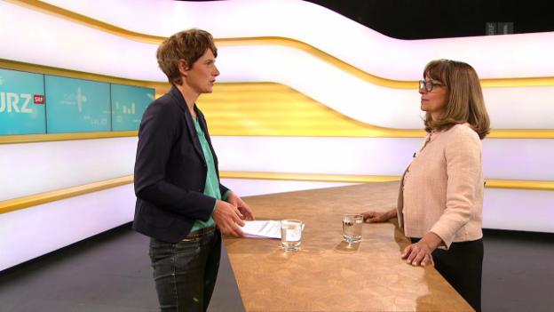 Video «Studiogespräch mit Gabriela Baumgartner, Rechtsexpertin Kassensturz/Espresso» abspielen