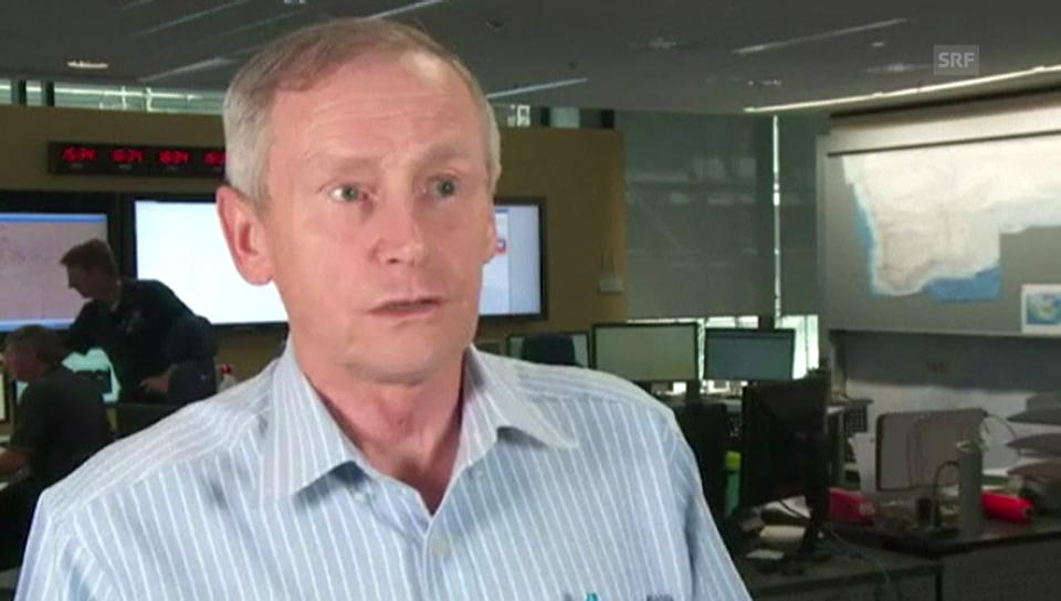 Amsa-Leiter John Young über die Suchaktion (englisch)