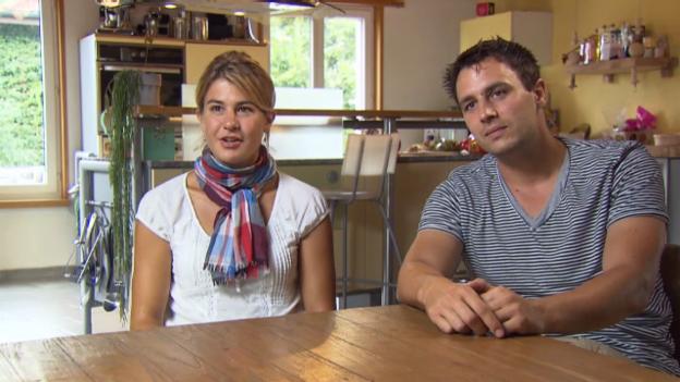 Video «Daniela Widmer und David Och über ihre Flucht» abspielen