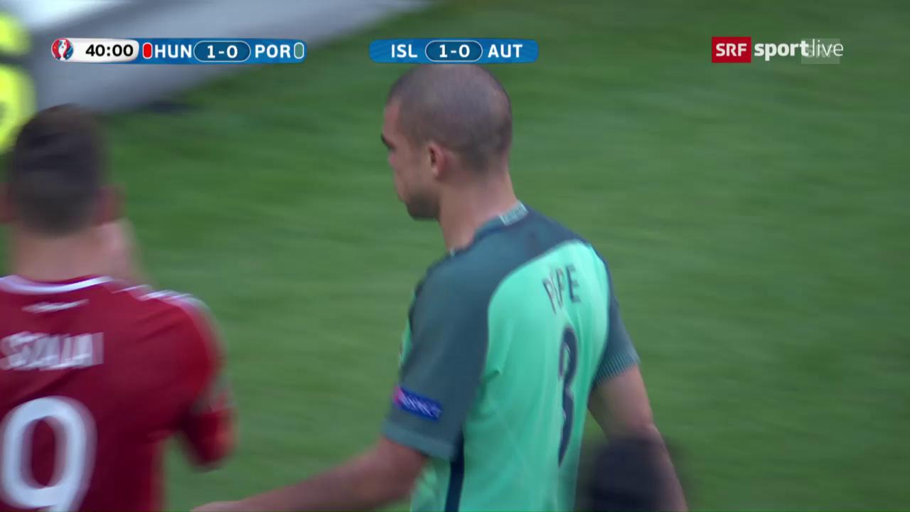Die Live-Highlights bei Ungarn-Portugal