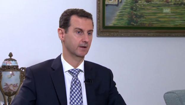 Video «Auszug aus dem Interview mit Baschar al-Assad» abspielen