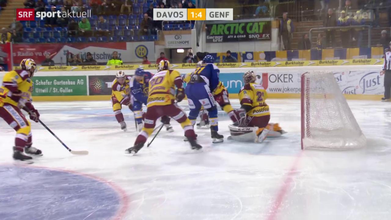 Eishockey: Davos - Genf