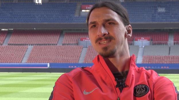 Video «Fussball: Zlatan Ibrahimovic entschuldigt sich (Quelle: SNTV)» abspielen