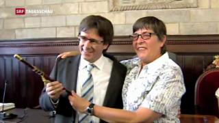 Video «Carles Puigdemont – ein überzeugter Katalane» abspielen