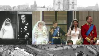 Video «Drei grosse britische Hochzeiten - ein königlicher Vergleich» abspielen