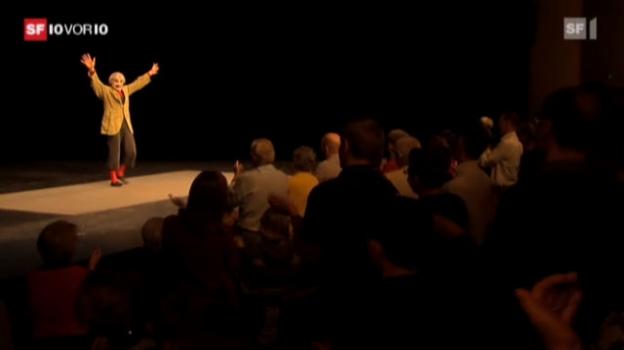 Video «Mit 76 Jahren immer noch auf der Bühne» abspielen