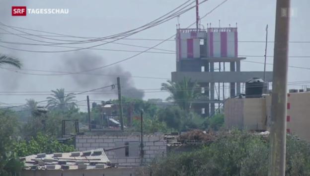 Video «Keine Waffenstillstand in Gaza» abspielen