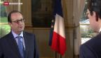 Video «Vor dem Hollande-Besuch» abspielen