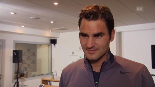 Video «Interview mit Roger Federer» abspielen