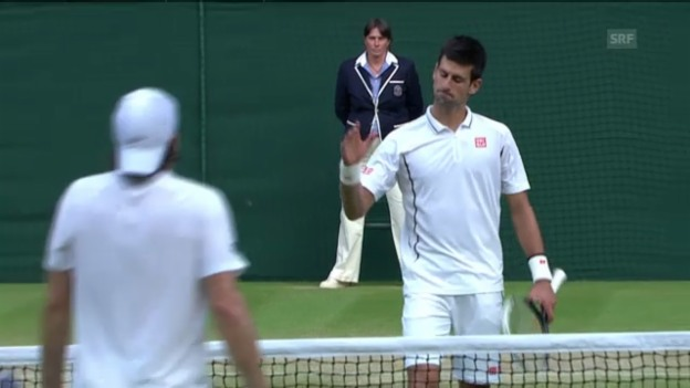 Video «Highlights Djokovic/Haas («sportlive»)» abspielen