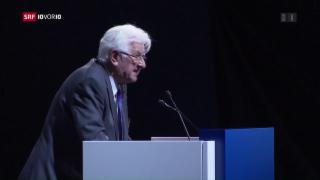 Video «Viel Kritik an der CS-Generalversammlung» abspielen