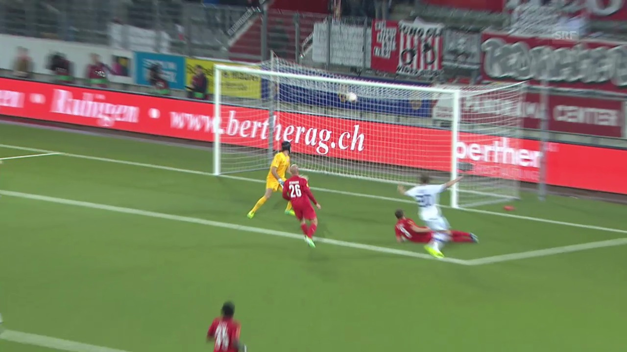 Highlights Thun - Dynamo Kiew («sportlive»)
