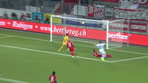 Video «Highlights Thun - Dynamo Kiew («sportlive»)» abspielen