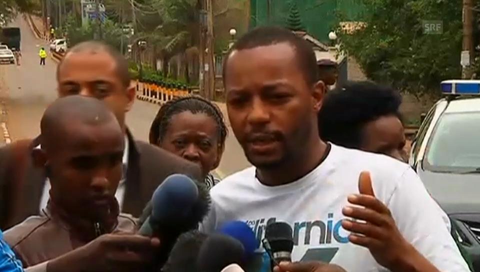 Ein Überlebender in Nairobi erzählt (Originalton englisch)