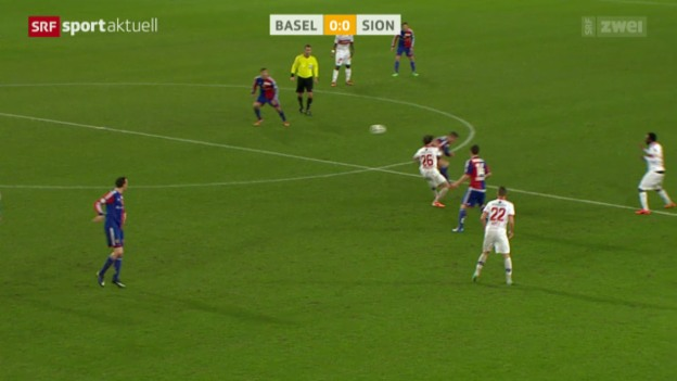 Video «Fussball: Super League, Basel - Sion» abspielen