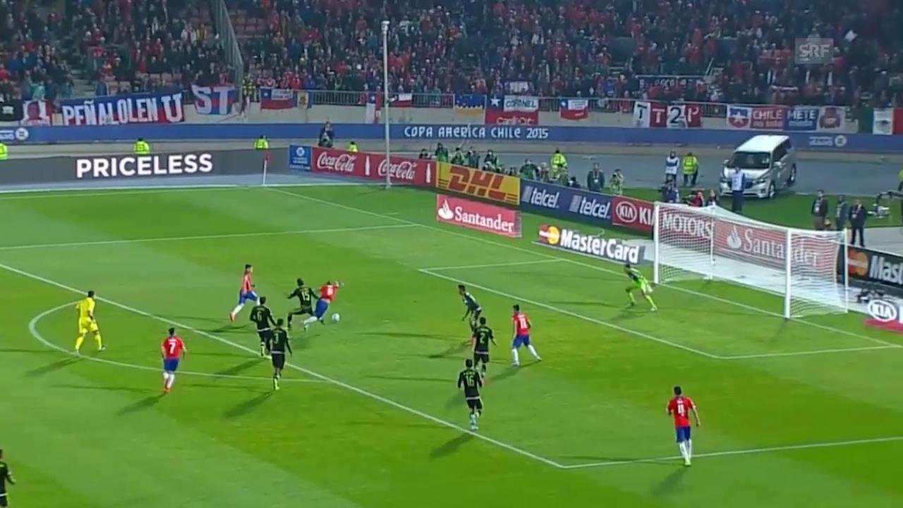 Fussball: Copa America, Highlights Chile - Mexiko
