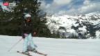 Video «Chinesen erobern Schweizer Skipisten» abspielen