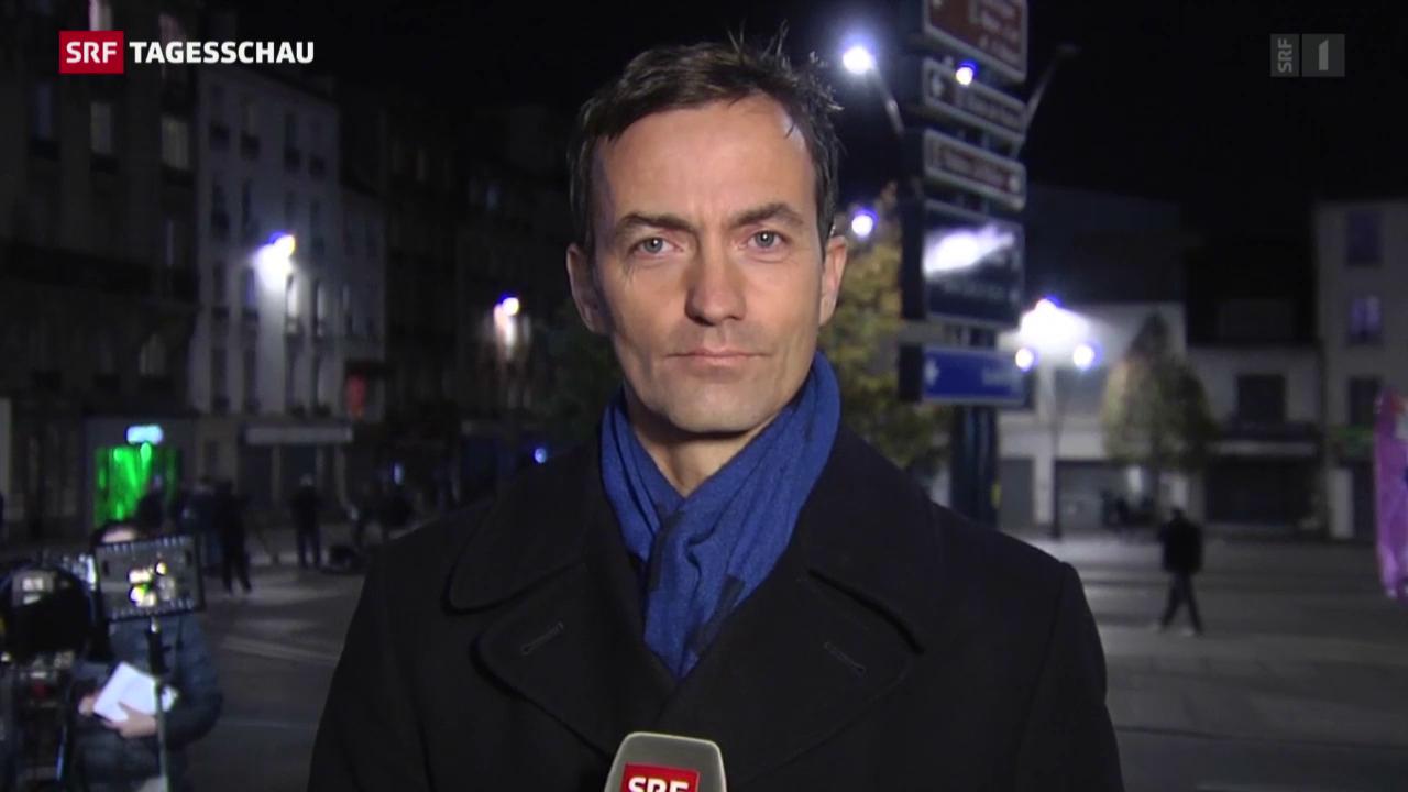 SRF-Korrespondent Michael Gerber zur Polizeiaktion