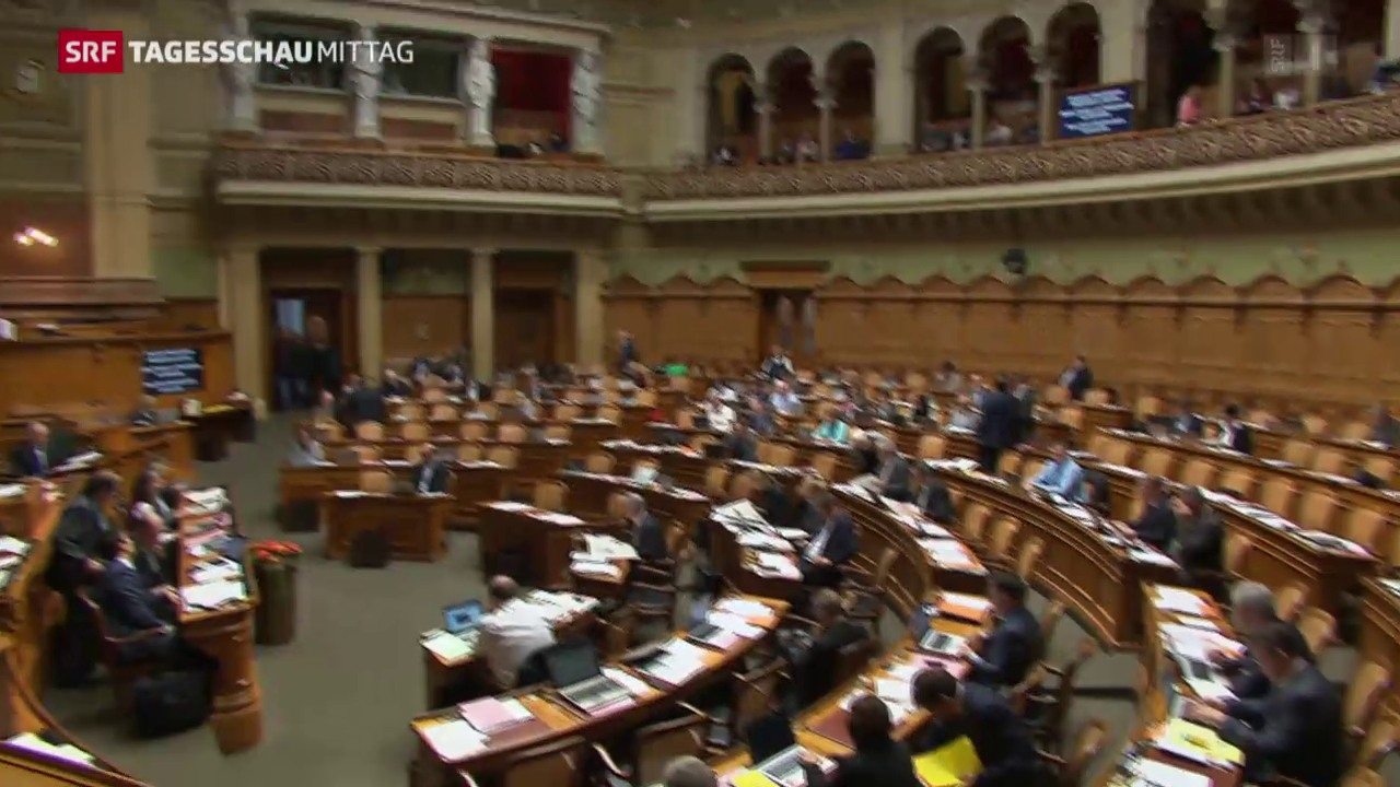 Nationalrat debattiert über die Frankenstärke