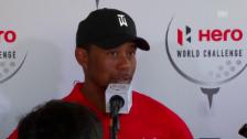 Video «Tiger Woods: «Ich hatte ein paar schwierige Jahre»» abspielen