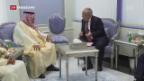 Video «Die Schweiz und Saudi-Arabien suchen die Zusammenarbeit» abspielen