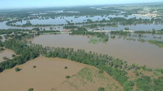 Video «Luftaufnahmen von Sachsen-Anhalt (unkommentiert)» abspielen