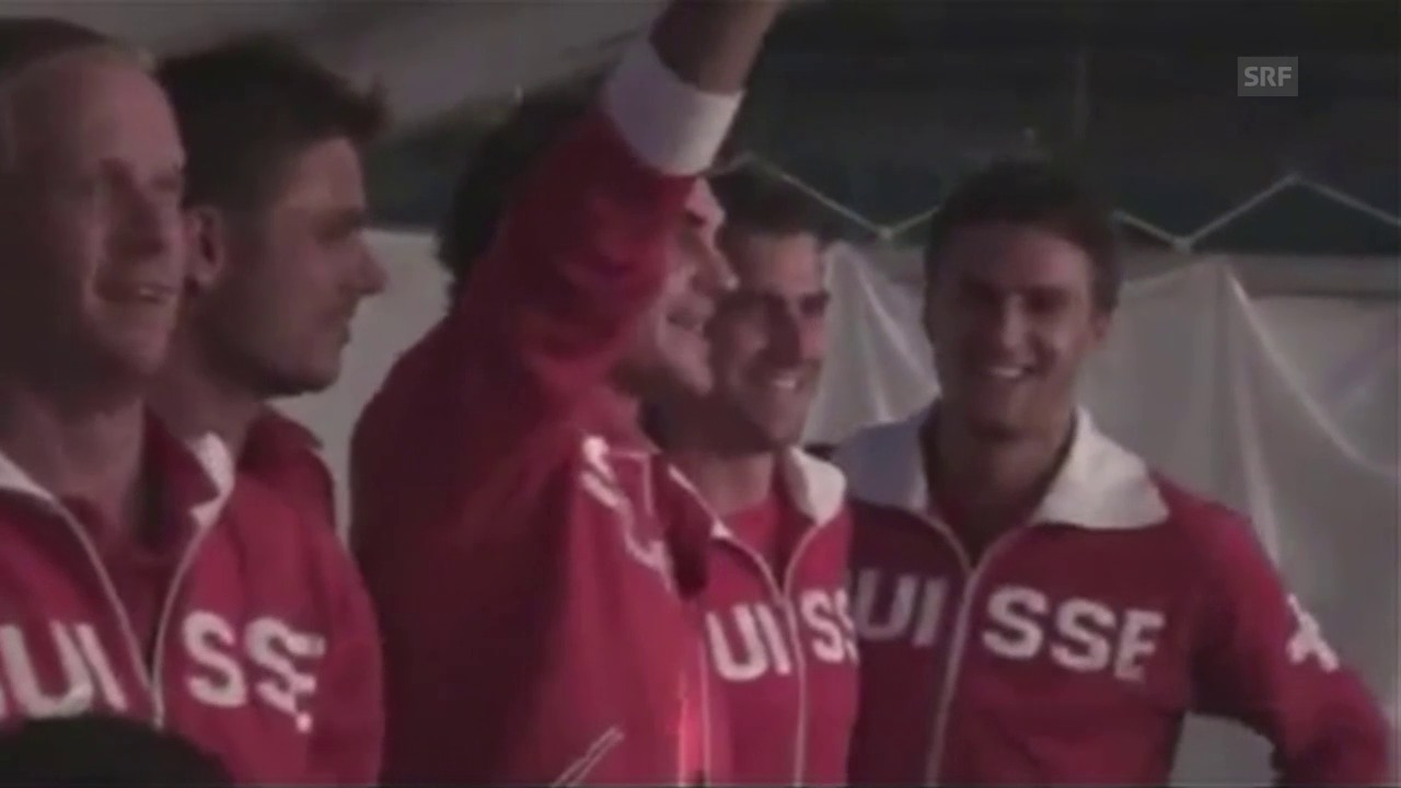 Roger Federer gibt den Ton an