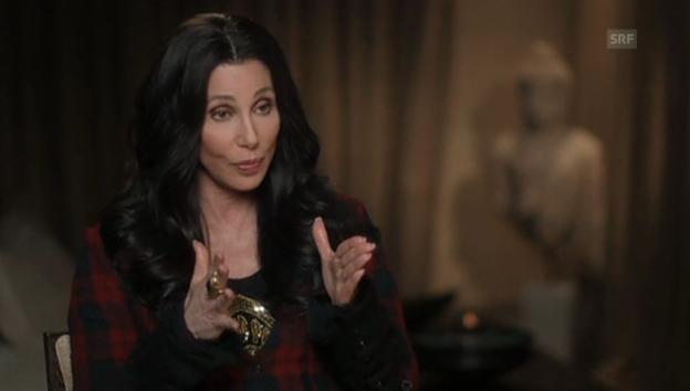 Video «Cher über ihr «seltsames» Alter» abspielen